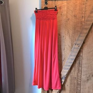 Candy Couture red maxi summer dress
